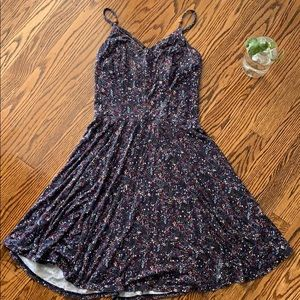 Cute Xhilaration Floral Skater Dress